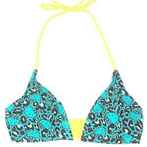Hello Kitty Teal Bikini Top